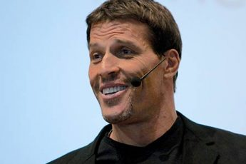 Anthony Robbins is speaking