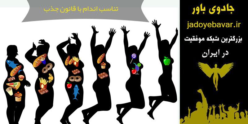 لاغری با قانون جذب،کاهش وزن با قانون جذب ،زنان خوشحال برای کاهش وزن