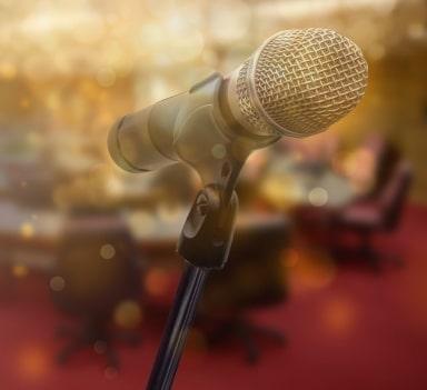 کنترل صدا در سخنوری